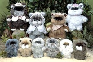 my original Wicket doll was one of these, the smaller ones!